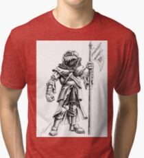 Ridley, the Dragonborn Fighter Tri-blend T-Shirt