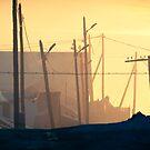 Nalaikh hazy sunset by UniSoul
