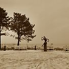 Winter #sepia by OLIVER W