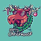 Merry Chrismoose by Lizziefij