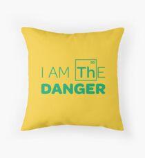 Breaking Bad - I AM THE DANGER! Throw Pillow