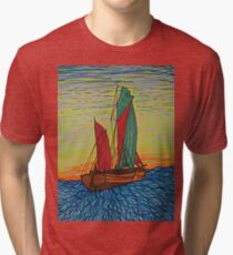 Sailing away Tri-blend T-Shirt