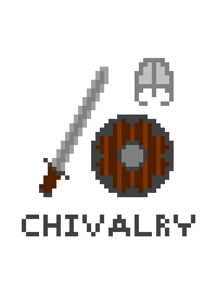 "Commision ""Chivalry"" 8-Bit by lookaquarter"