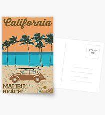 Malibu - Kalifornien. Postkarten