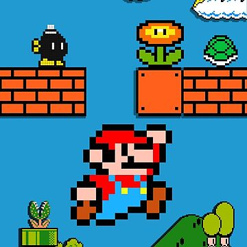 Mario by forthemakaron