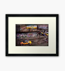 City - New York - Greenwich Village - Life's color Framed Print