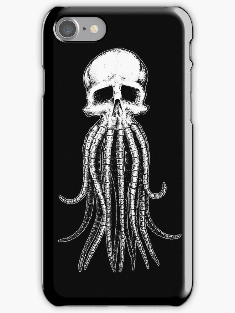 Skull octopus/davy jones by beanarts