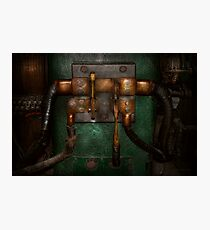 Steampunk - Electrical - Pull the switch  Photographic Print