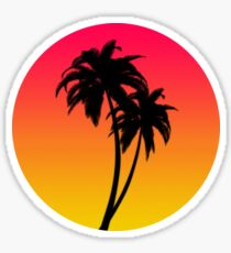 MASTER OF THE MIAMI SUNSET Sticker
