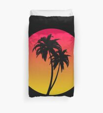 MASTER OF THE MIAMI SUNSET Duvet Cover