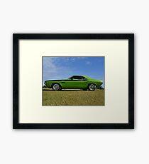 1970 Dodge Challenger TA Framed Print