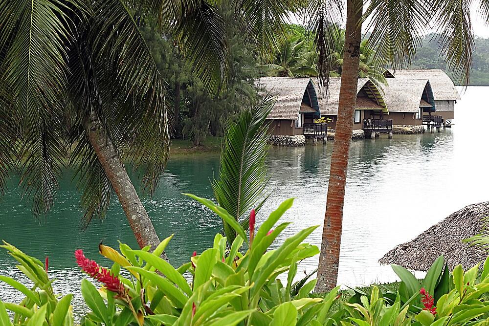Vanuatu Resort by Marcia Luly