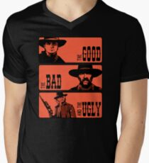 BTTF: The good, the bad and the ugly Men's V-Neck T-Shirt
