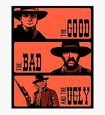 BTTF: The good, the bad and the ugly Photographic Print
