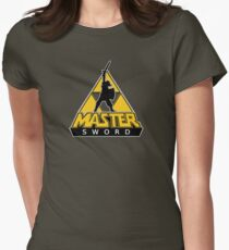 Link and the Master Sword Women's Fitted T-Shirt