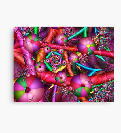 Joyful New Year Canvas Print