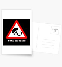 Baby on board Postcards