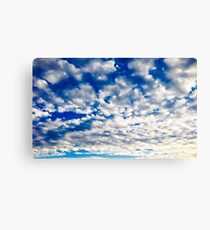 Nothing But Blue Skies Canvas Print