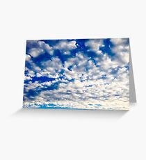 Nothing But Blue Skies Greeting Card