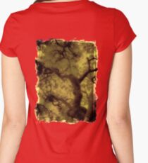 fractal tree dream Women's Fitted Scoop T-Shirt