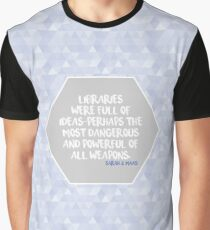 Throne of Glass Libraries Graphic T-Shirt