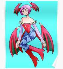 Lilith Darkstalkers Poster