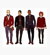 winter fashions caws crew Photographic Print
