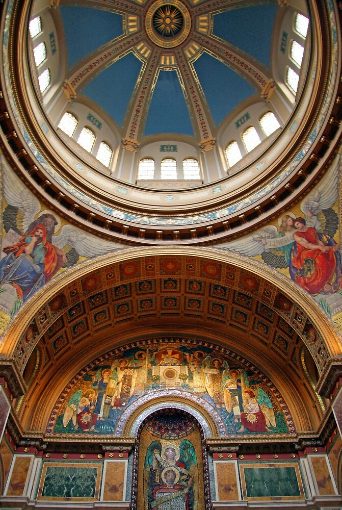 Saint Matthew's Cathedral by Cora Wandel