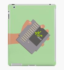 Vsauce outro NES cartridge iPad Case/Skin