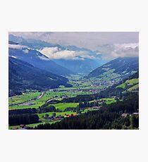 Carinthia, Kärnten, Photographic Print