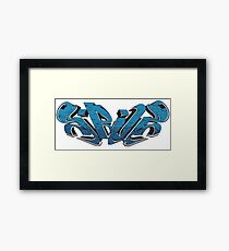 Sirius Bricks Framed Print