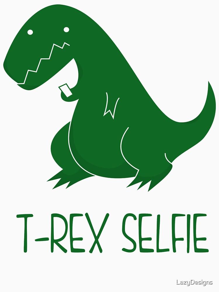 T-Rex-Selfie von LazyDesigns