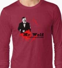 Mr. Wolf Long Sleeve T-Shirt
