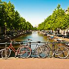 Bicycles in Amsterdam by pahas