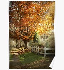 Autumn - Westfield, NJ - I love autumn Poster