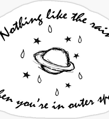 5 Seconds of Summer - Outer Space Sticker