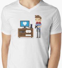Nerd 4 Life Men's V-Neck T-Shirt