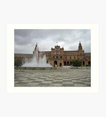 Plaza España Art Print