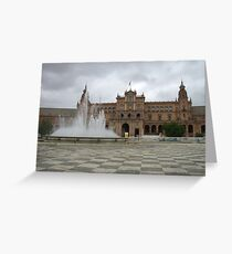 Plaza España Greeting Card
