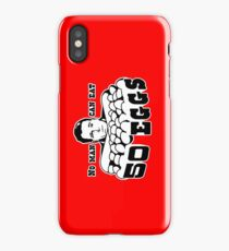 Cool Hand Luke: No man can eat 50 eggs iPhone Case