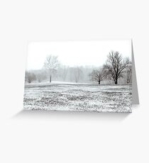 Frostbite Greeting Card