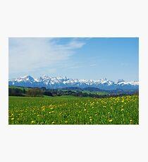 Alps, Germany Photographic Print