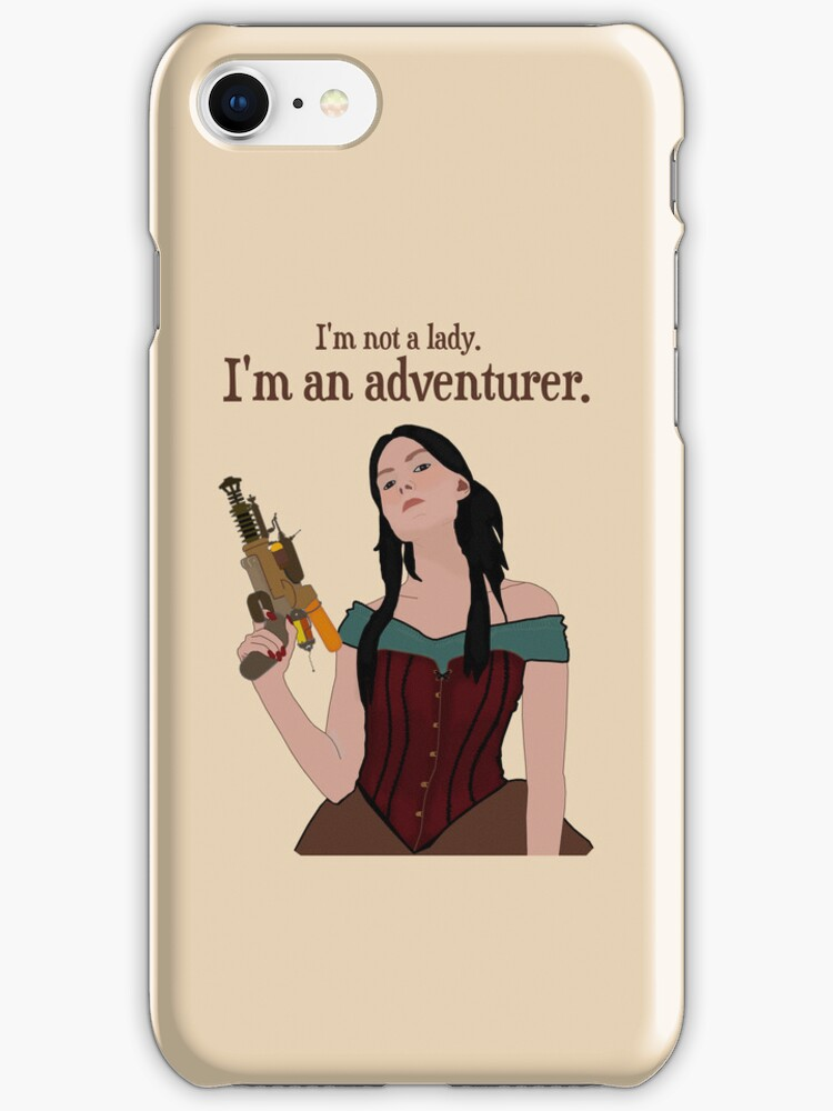 I Am Not A Lady [ Ipod / Iphone / Print ] by swelldame