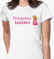 Princess inside! Women's Fitted T-Shirt