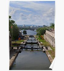 Ottawa Locks Poster