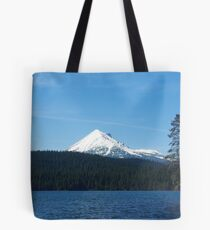 Lake of the Woods with Mount McLoughlin, Oregon Tote Bag