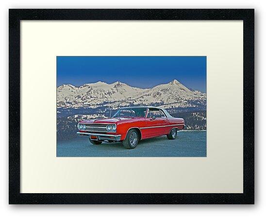 1965 Chevelle Malibu Convertible by DaveKoontz