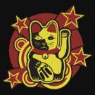 Maneki Neko Chinese Lucky Cat by dutyfreak