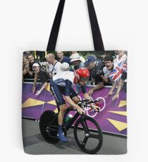 Sir Bradley Wiggins Tote Bag