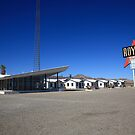 Route 66 - Roy's Cafe by Frank Romeo